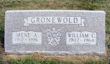 GRONEWOLD, WILLIAM C. - Frontier County, Nebraska | WILLIAM C. GRONEWOLD - Nebraska Gravestone Photos
