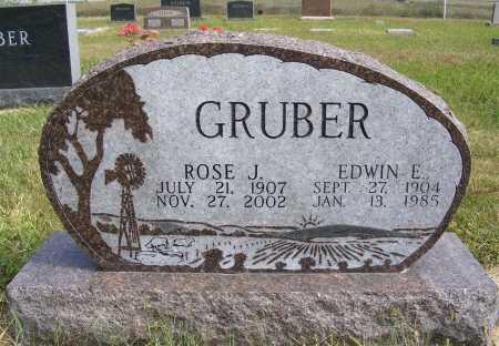 GRUBER, ROSE J. - Frontier County, Nebraska | ROSE J. GRUBER - Nebraska Gravestone Photos