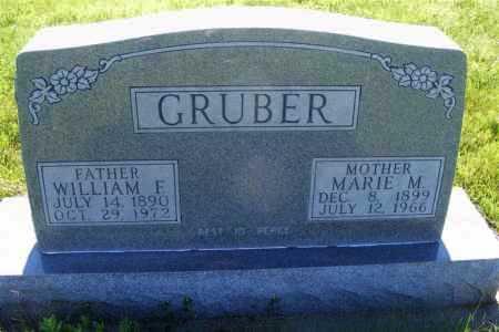 GRUBER, MARIE M. - Frontier County, Nebraska | MARIE M. GRUBER - Nebraska Gravestone Photos