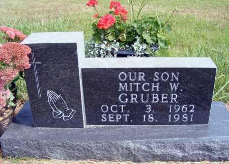 GRUBER, MITCH W. - Frontier County, Nebraska | MITCH W. GRUBER - Nebraska Gravestone Photos