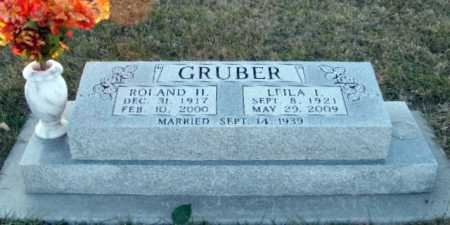 GRUBER, ROLAND H. - Frontier County, Nebraska   ROLAND H. GRUBER - Nebraska Gravestone Photos