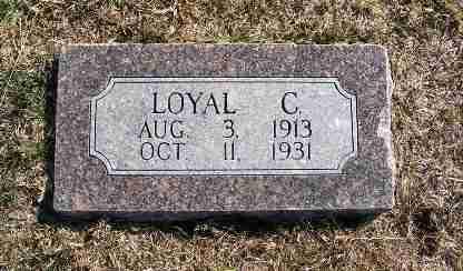 GUGELMAN, LOYAL C. - Frontier County, Nebraska | LOYAL C. GUGELMAN - Nebraska Gravestone Photos