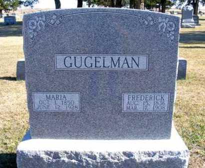 GUGELMAN, FREDERICK - Frontier County, Nebraska | FREDERICK GUGELMAN - Nebraska Gravestone Photos