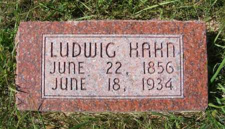 HAHN, LUDWIG - Frontier County, Nebraska | LUDWIG HAHN - Nebraska Gravestone Photos
