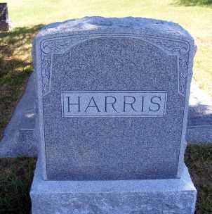 HARRIS, FAMILY - Frontier County, Nebraska   FAMILY HARRIS - Nebraska Gravestone Photos