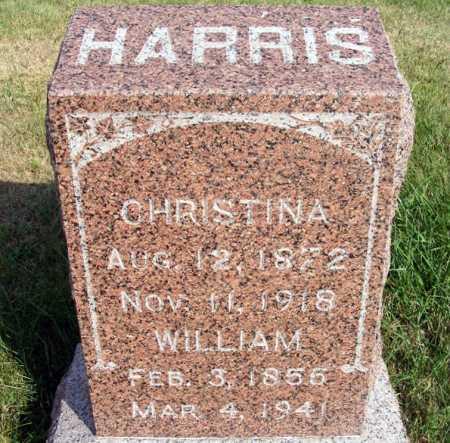 HARRIS, CHRISTINA - Frontier County, Nebraska | CHRISTINA HARRIS - Nebraska Gravestone Photos