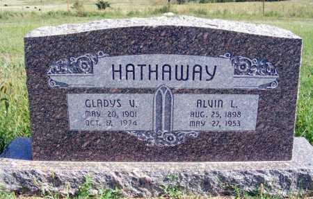 HATHAWAY, GLADYS V. - Frontier County, Nebraska   GLADYS V. HATHAWAY - Nebraska Gravestone Photos