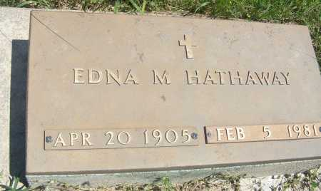 ADKISSON HATHAWAY, EDNA M. - Frontier County, Nebraska | EDNA M. ADKISSON HATHAWAY - Nebraska Gravestone Photos