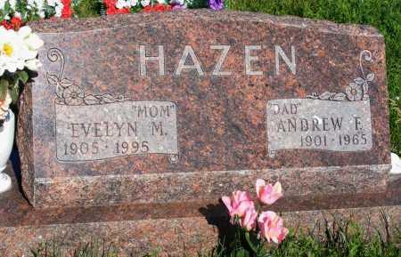 SMALLFOOT HAZEN, EVELYN M. - Frontier County, Nebraska | EVELYN M. SMALLFOOT HAZEN - Nebraska Gravestone Photos