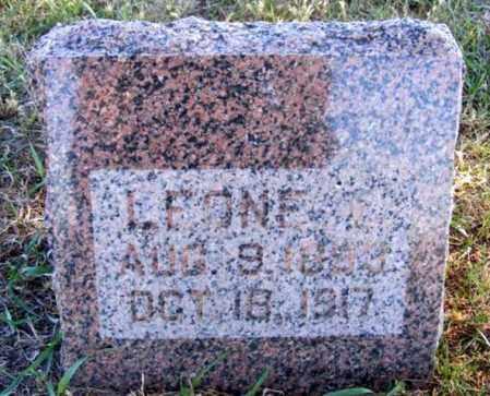 HERMAN, LEONE E. - Frontier County, Nebraska | LEONE E. HERMAN - Nebraska Gravestone Photos