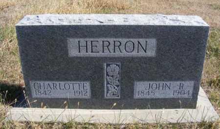 HERRON, JOHN R. - Frontier County, Nebraska   JOHN R. HERRON - Nebraska Gravestone Photos