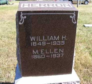 HERRON, WILLIAM H. - Frontier County, Nebraska | WILLIAM H. HERRON - Nebraska Gravestone Photos