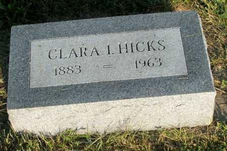 HICKS, CLARA I. - Frontier County, Nebraska | CLARA I. HICKS - Nebraska Gravestone Photos