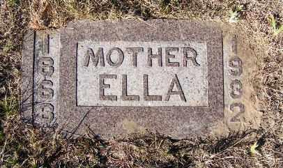 HINTON, ELLA - Frontier County, Nebraska   ELLA HINTON - Nebraska Gravestone Photos