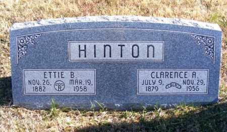 HINTON, CLARENCE A. - Frontier County, Nebraska | CLARENCE A. HINTON - Nebraska Gravestone Photos