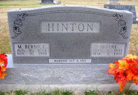 HINTON, ALBERT - Frontier County, Nebraska | ALBERT HINTON - Nebraska Gravestone Photos
