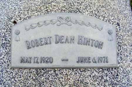 HINTON, ROBERT DEAN - Frontier County, Nebraska | ROBERT DEAN HINTON - Nebraska Gravestone Photos