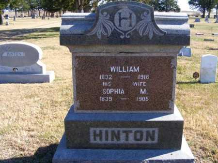 MANGES HINTON, SOPHIA - Frontier County, Nebraska | SOPHIA MANGES HINTON - Nebraska Gravestone Photos