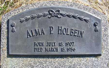 HOLBEIN, ALMA P. - Frontier County, Nebraska | ALMA P. HOLBEIN - Nebraska Gravestone Photos