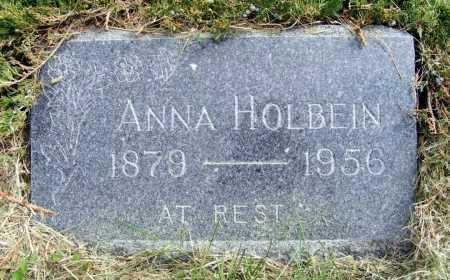HOLBEIN, ANNA - Frontier County, Nebraska | ANNA HOLBEIN - Nebraska Gravestone Photos