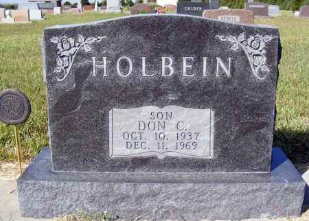 HOLBEIN, DON C. - Frontier County, Nebraska | DON C. HOLBEIN - Nebraska Gravestone Photos
