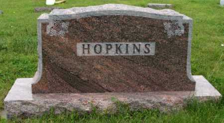 HOPKINS, FAMILY - Frontier County, Nebraska | FAMILY HOPKINS - Nebraska Gravestone Photos