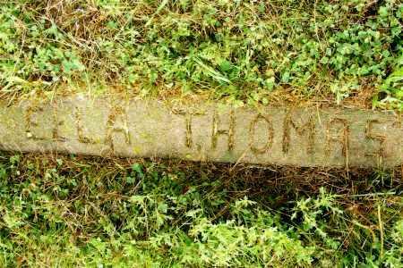 THOMAS, ELLA - Frontier County, Nebraska | ELLA THOMAS - Nebraska Gravestone Photos