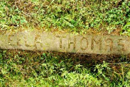 THOMAS, ELLA - Frontier County, Nebraska | ELLA THOMAS - Nebraska Gravestone Photos