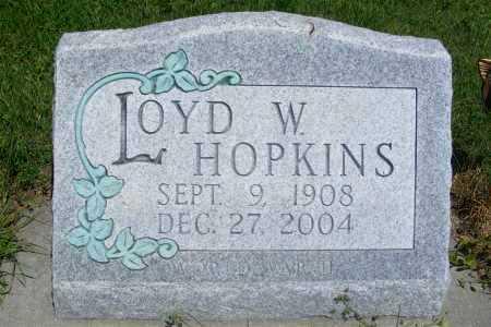 HOPKINS, LOYD W. - Frontier County, Nebraska | LOYD W. HOPKINS - Nebraska Gravestone Photos