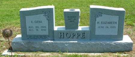 HOPPE, H. ELIZABETH - Frontier County, Nebraska | H. ELIZABETH HOPPE - Nebraska Gravestone Photos