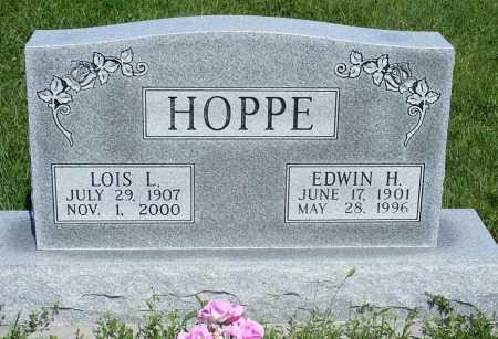 HOPPE, LOIS L. - Frontier County, Nebraska | LOIS L. HOPPE - Nebraska Gravestone Photos