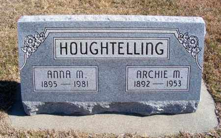 HOUSLEY HOUGHTELLING, ANNA M. - Frontier County, Nebraska | ANNA M. HOUSLEY HOUGHTELLING - Nebraska Gravestone Photos