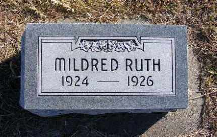 HOUGHTELLING, MILDRED RUTH - Frontier County, Nebraska | MILDRED RUTH HOUGHTELLING - Nebraska Gravestone Photos