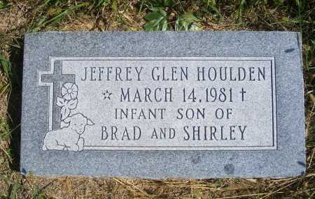 HOULDEN, JEFFREY GLEN - Frontier County, Nebraska | JEFFREY GLEN HOULDEN - Nebraska Gravestone Photos