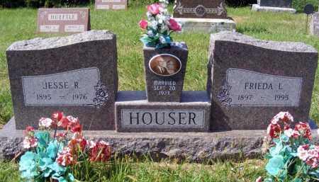 HOUSER, JESSE R. - Frontier County, Nebraska | JESSE R. HOUSER - Nebraska Gravestone Photos