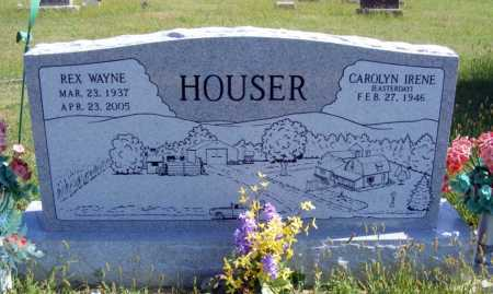 EASTERDAY HOUSER, CAROLYN IRENE - Frontier County, Nebraska | CAROLYN IRENE EASTERDAY HOUSER - Nebraska Gravestone Photos