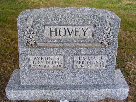 HOVEY, BYRON S. - Frontier County, Nebraska | BYRON S. HOVEY - Nebraska Gravestone Photos