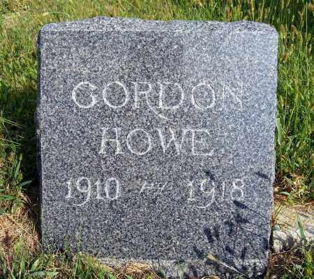 HOWE, GORDON - Frontier County, Nebraska   GORDON HOWE - Nebraska Gravestone Photos