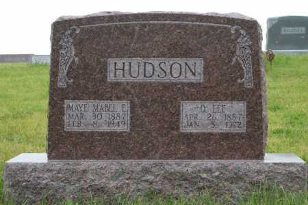MAYE HUDSON, MABEL E. - Frontier County, Nebraska | MABEL E. MAYE HUDSON - Nebraska Gravestone Photos