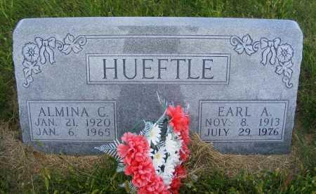 HUEFTLE, EARL A. - Frontier County, Nebraska | EARL A. HUEFTLE - Nebraska Gravestone Photos