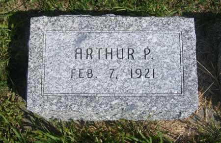 HUEFTLE, ARTHUR P. - Frontier County, Nebraska | ARTHUR P. HUEFTLE - Nebraska Gravestone Photos