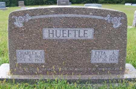 HUEFTLE, ETTA A - Frontier County, Nebraska | ETTA A HUEFTLE - Nebraska Gravestone Photos