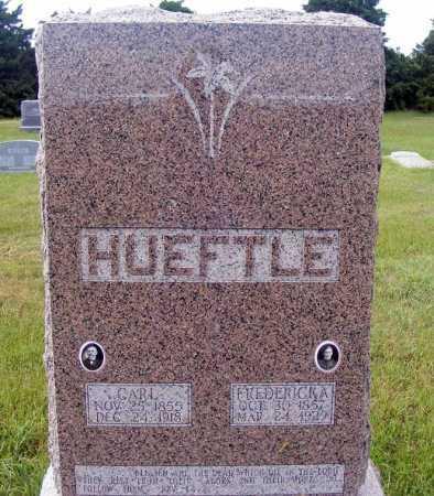 HUEFTLE, CARL - Frontier County, Nebraska | CARL HUEFTLE - Nebraska Gravestone Photos