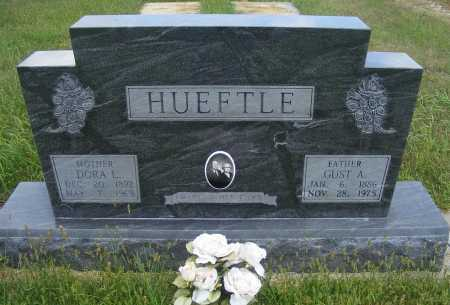 HUEFTLE, GUST A. - Frontier County, Nebraska | GUST A. HUEFTLE - Nebraska Gravestone Photos