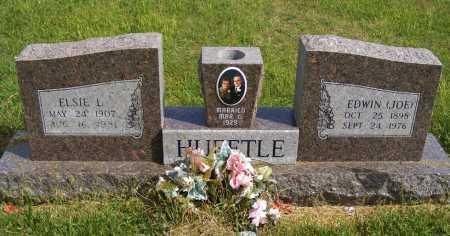 HUEFTLE, EDWIN (JOE) - Frontier County, Nebraska | EDWIN (JOE) HUEFTLE - Nebraska Gravestone Photos