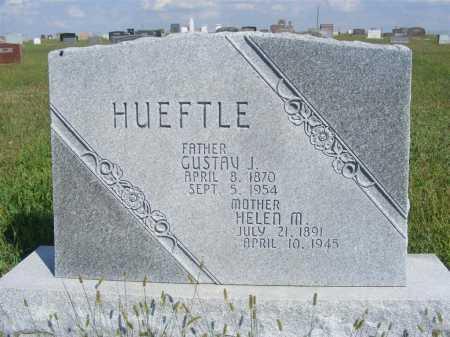 HUEFTLE, GUSTAV J. - Frontier County, Nebraska | GUSTAV J. HUEFTLE - Nebraska Gravestone Photos
