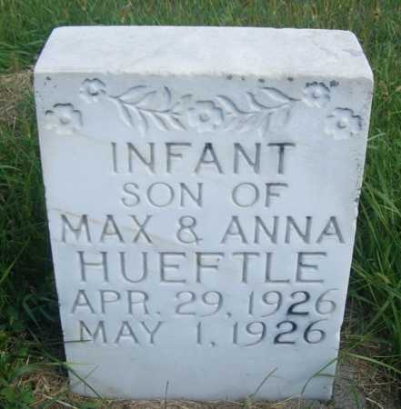 HUEFTLE, INFANT SON - Frontier County, Nebraska | INFANT SON HUEFTLE - Nebraska Gravestone Photos