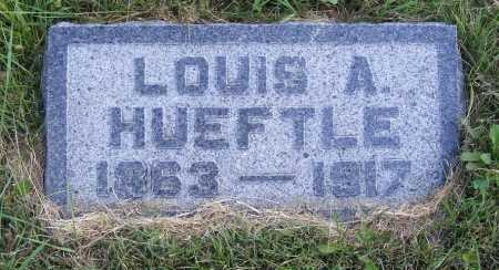 HUEFTLE, LOUIS A. - Frontier County, Nebraska | LOUIS A. HUEFTLE - Nebraska Gravestone Photos