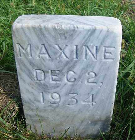 HUEFTLE, MAXINE - Frontier County, Nebraska | MAXINE HUEFTLE - Nebraska Gravestone Photos