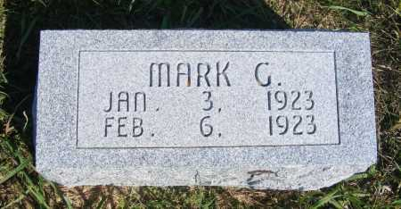 HUEFTLE, MARK G. - Frontier County, Nebraska | MARK G. HUEFTLE - Nebraska Gravestone Photos